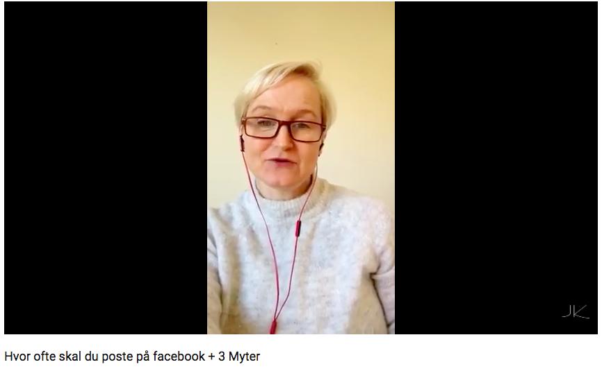 Hvor ofte skal du poste på facebook + 3 Myter
